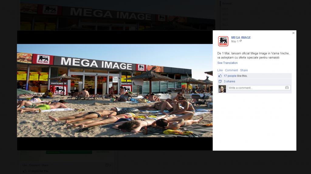 Mega Image Facebook